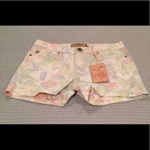 Dear John floral shorts size 29 NEW